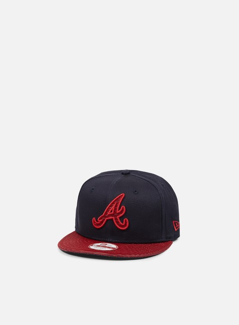 Outlet e Saldi Cappellini Snapback New Era Team Mesh Snapback Atlanta Braves