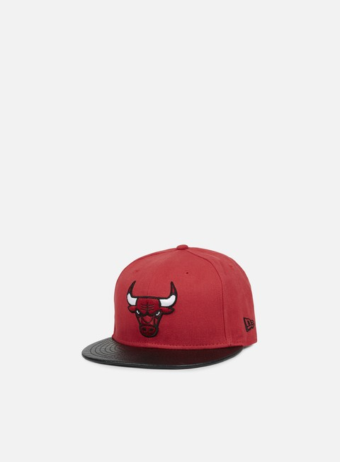 Outlet e Saldi Cappellini True Fitted New Era Team PU Canvas Chicago Bulls