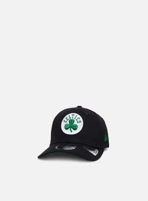 Outlet e Saldi Cappellini Visiera Curva New Era Team Stretch 9Fifty Snapback Boston Celtics