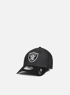New Era - Team Stretch Canvas 39Thirty Oakland Raiders, Black 1