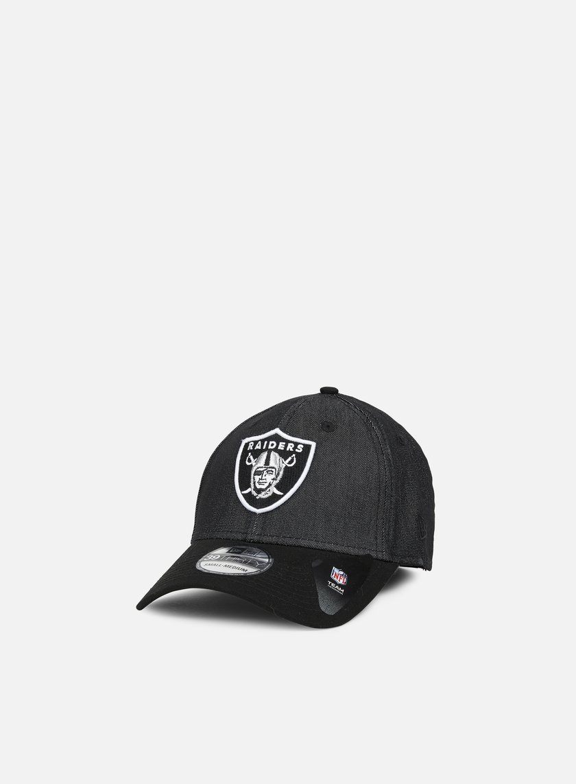 New Era - Team Stretch Canvas 39Thirty Oakland Raiders, Black