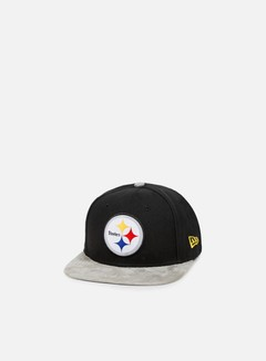 New Era - Team Suede Vize Snapback Pittsburgh Steelers, Team Colors 1
