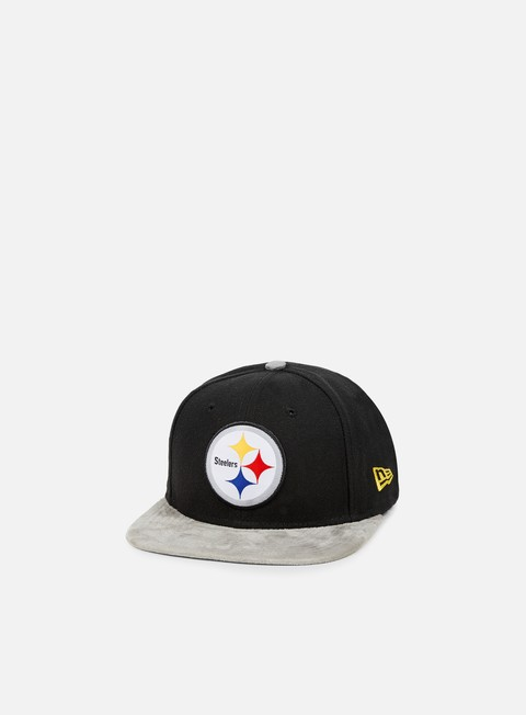 Outlet e Saldi Cappellini Snapback New Era Team Suede Vize Snapback Pittsburgh Steelers