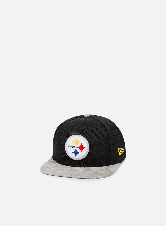 New Era Team Suede Vize Snapback Pittsburgh Steelers