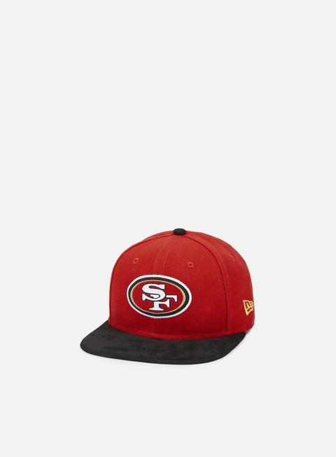 Outlet e Saldi Cappellini Snapback New Era Team Suede Vize Snapback San Francisco 49ers