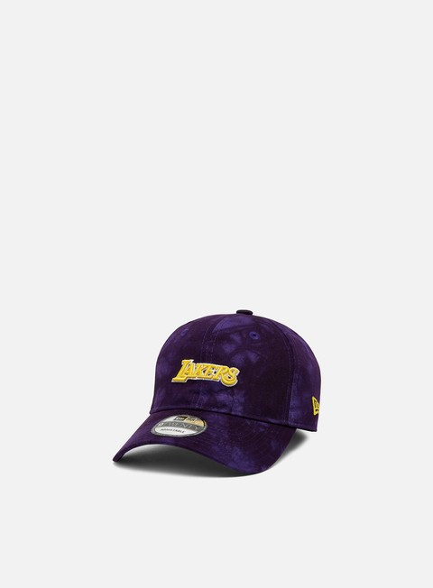 Cappellini Visiera Curva New Era Team Tie Dye 9Twenty Strapback LA Lakers