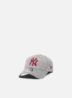 New Era - Tech Jersey Strapback NY Yankees, Grey/Cardinal 1