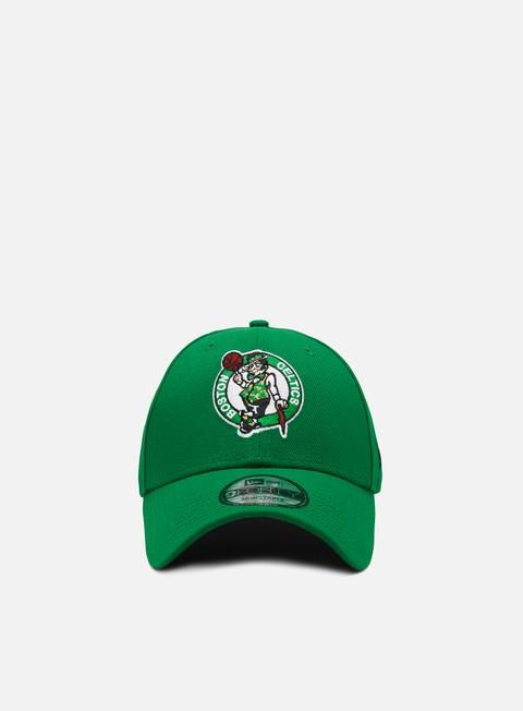 Curved Brim Caps New Era The League 9Forty Strapback Boston Celtics