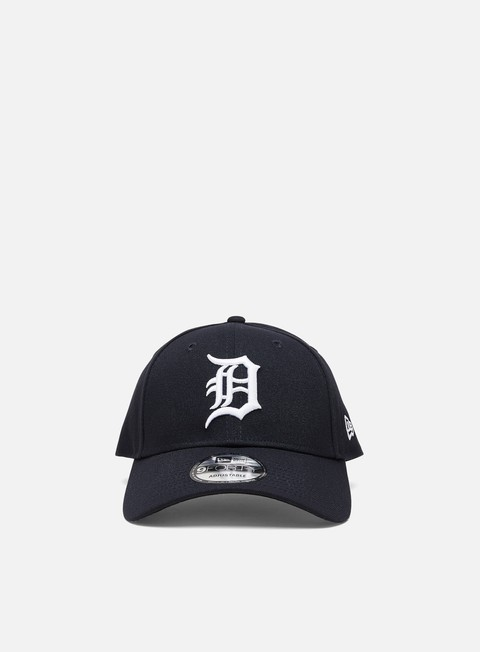 Curved Brim Caps New Era The League 9Forty Strapback Detroit Tigers