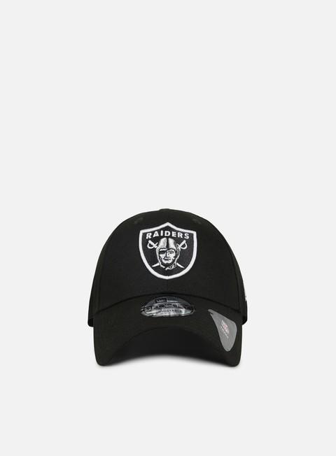 Curved Brim Caps New Era The League 9Forty Strapback Las Vegas Raiders