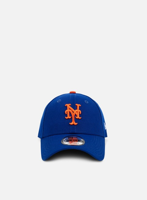 Curved Brim Caps New Era The League 9Forty Strapback NY Mets