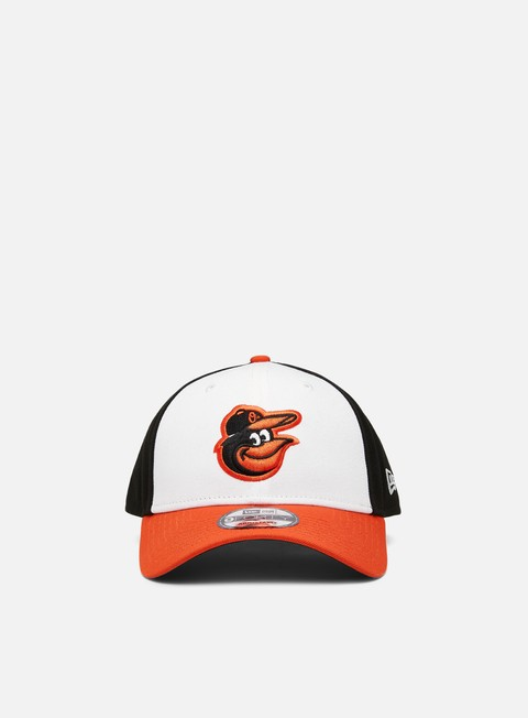Curved Brim Caps New Era The League Home 9Forty Strapback Baltimore Orioles