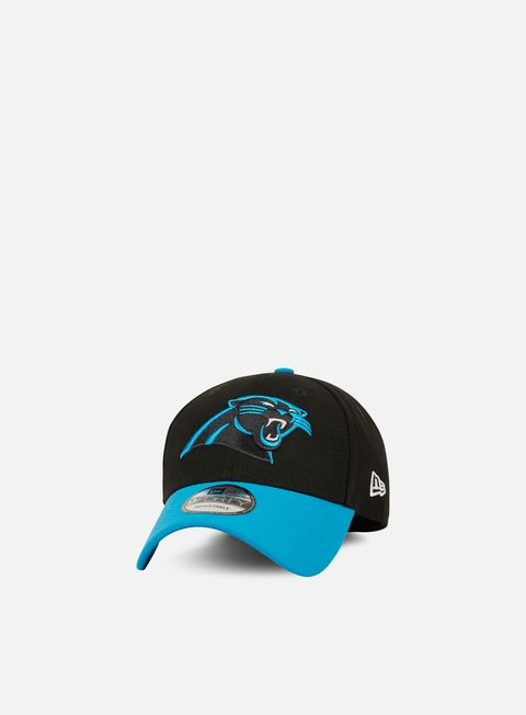 Outlet e Saldi Cappellini Visiera Curva New Era The League Strapback Carolina Panthers