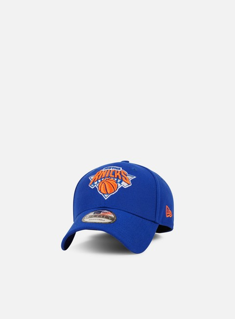 Outlet e Saldi Cappellini Visiera Curva New Era The League Strapback New York Knicks