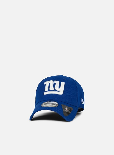 Curved Brim Caps New Era The League Strapback NY Giants