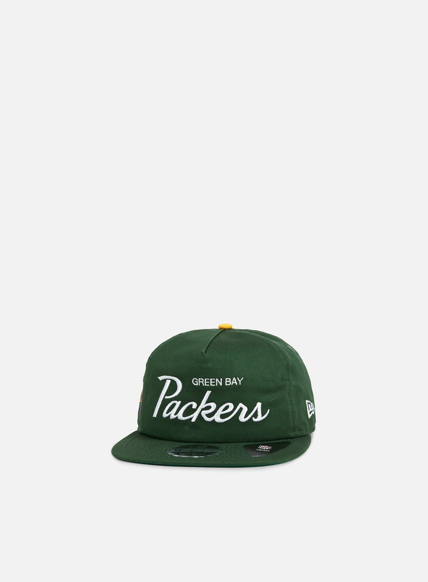 New Era - Throwback Snapback Green Bay Packers, Team Colros
