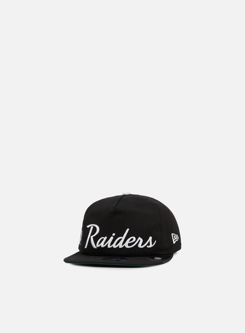 New Era Throwback Snapback Oakland Raiders