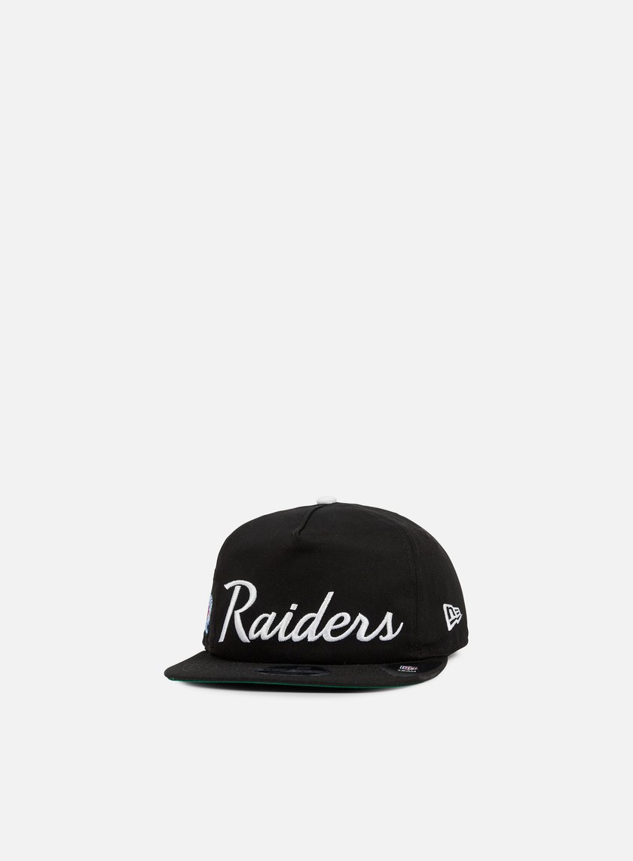 Throwback Snapback Oakland Raiders