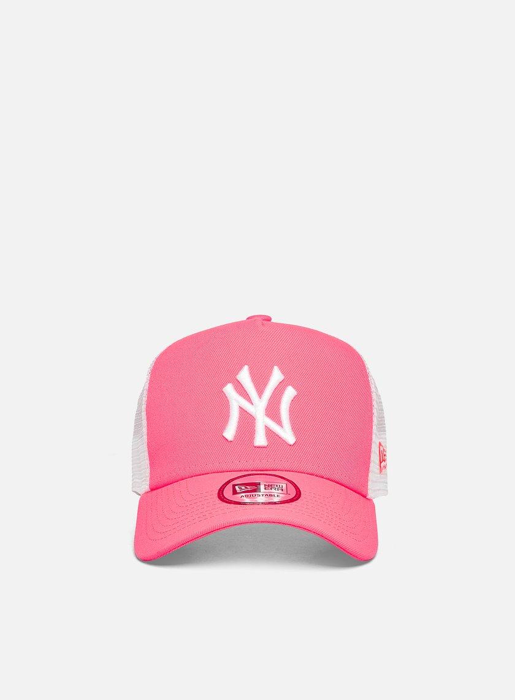 New Era Tonal Mesh Trucker Snapback NY Yankees