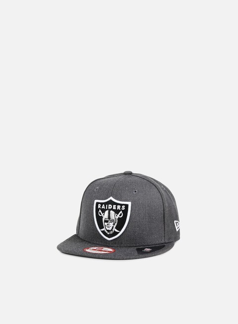 New Era Tonal Team Heather Snapback Oakland Raiders