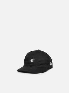New Era - Unstructured 9Fifty Strapback, Black 1