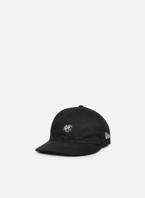 cappellini new era unstructured 9fifty strapback black
