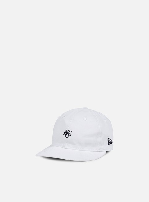 cappellini new era unstructured 9fifty strapback white