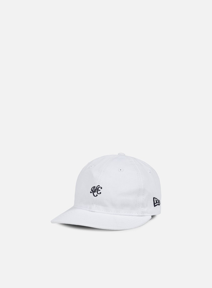 New Era - Unstructured 9Fifty Strapback, White