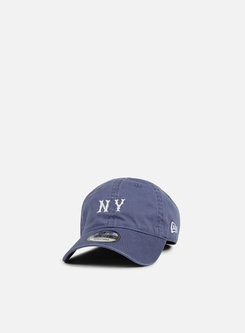 Curved Brim Caps New Era Unstructured Seasonal Strapback NY Yankees