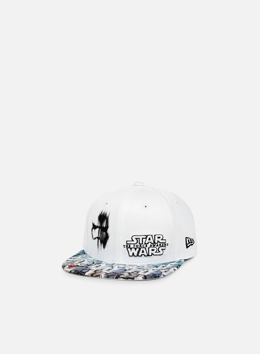 New Era - Villan Vize Snapback Plasma, White/Grey