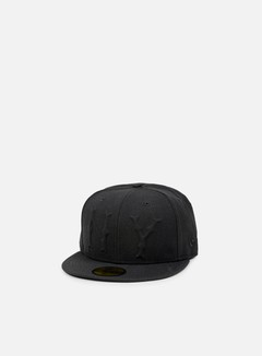 New Era - Vintage Deboss NY Yankees, Black 1