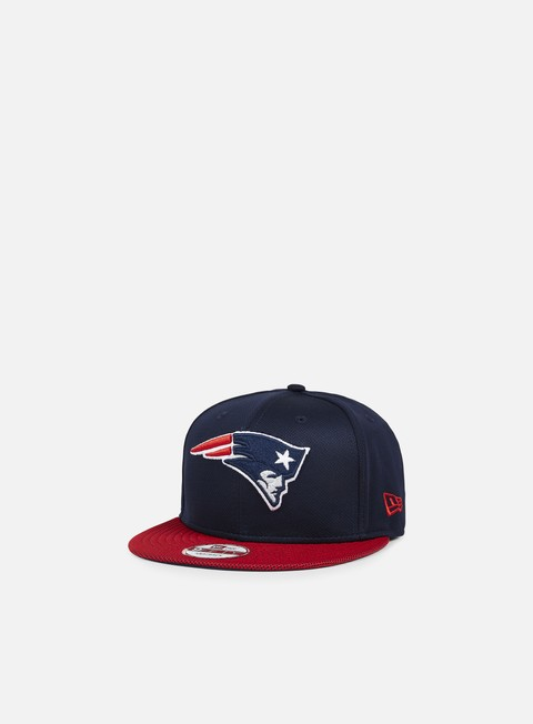 Outlet e Saldi Cappellini Snapback New Era Visor Mesh NFL Snapback New England Patriots