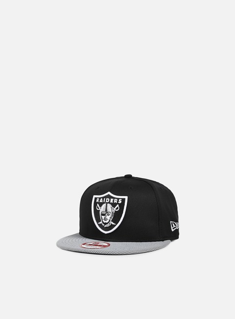cappellini new era visor mesh nfl snapback oakland raiders team colors