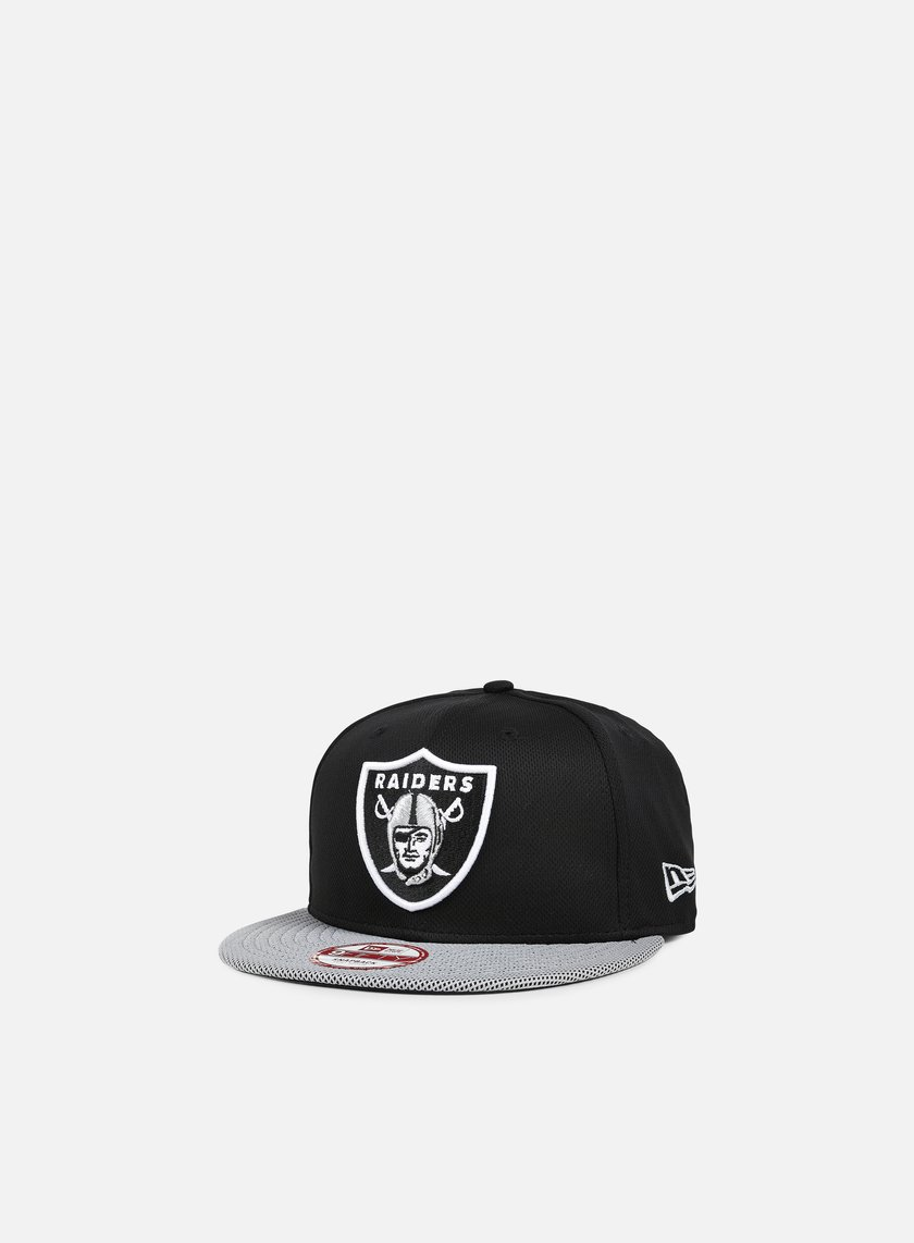 New Era - Visor Mesh NFL Snapback Oakland Raiders, Team Colors