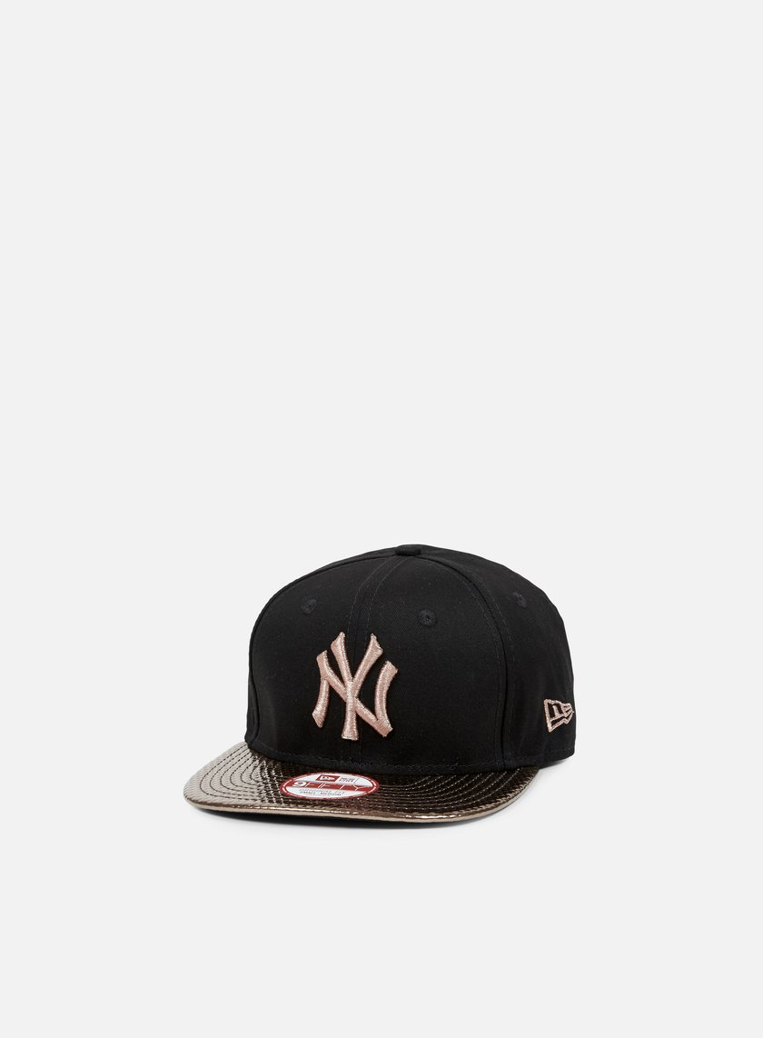 New Era - Visor Shine Snapback NY Yankees, Black/Bronze