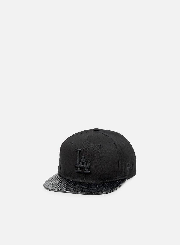 New Era - Visor Tone Snapback LA Dodgers, Black/Black