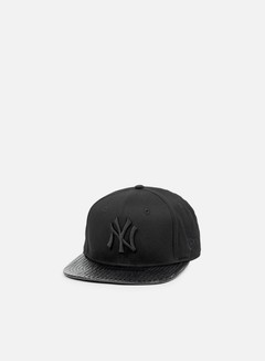 New Era - Visor Tone Snapback NY Yankees, Black/Black 1