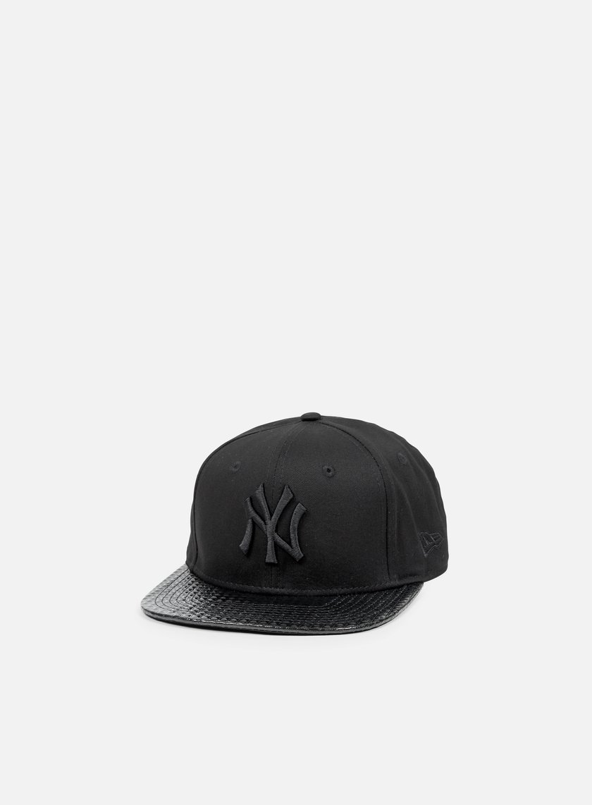 New Era - Visor Tone Snapback NY Yankees, Black/Black