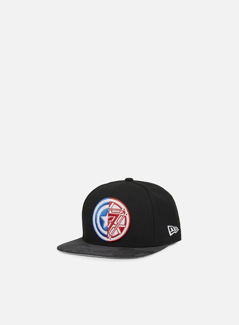 Outlet e Saldi Cappellini Snapback New Era Viza Print Snapback Civil War