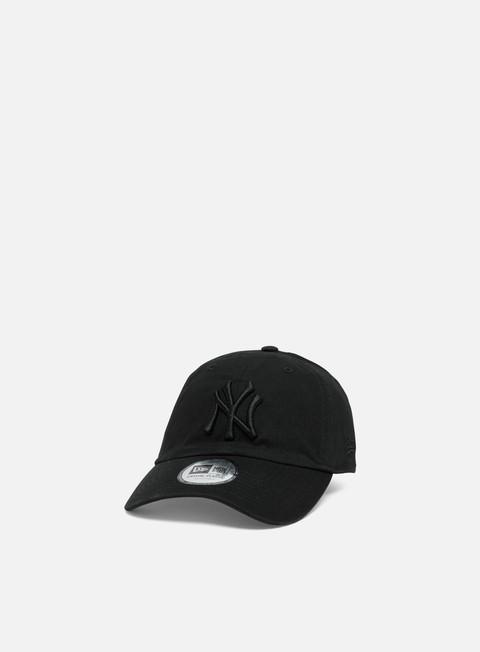 Outlet e Saldi Cappellini Visiera Curva New Era Washed Casual Classic 9Twenty NY Yankees