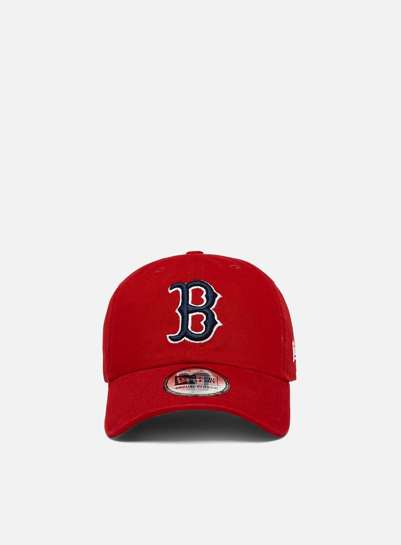 New Era Washed Casual Classic 9Twenty Strapback Boston Red Sox