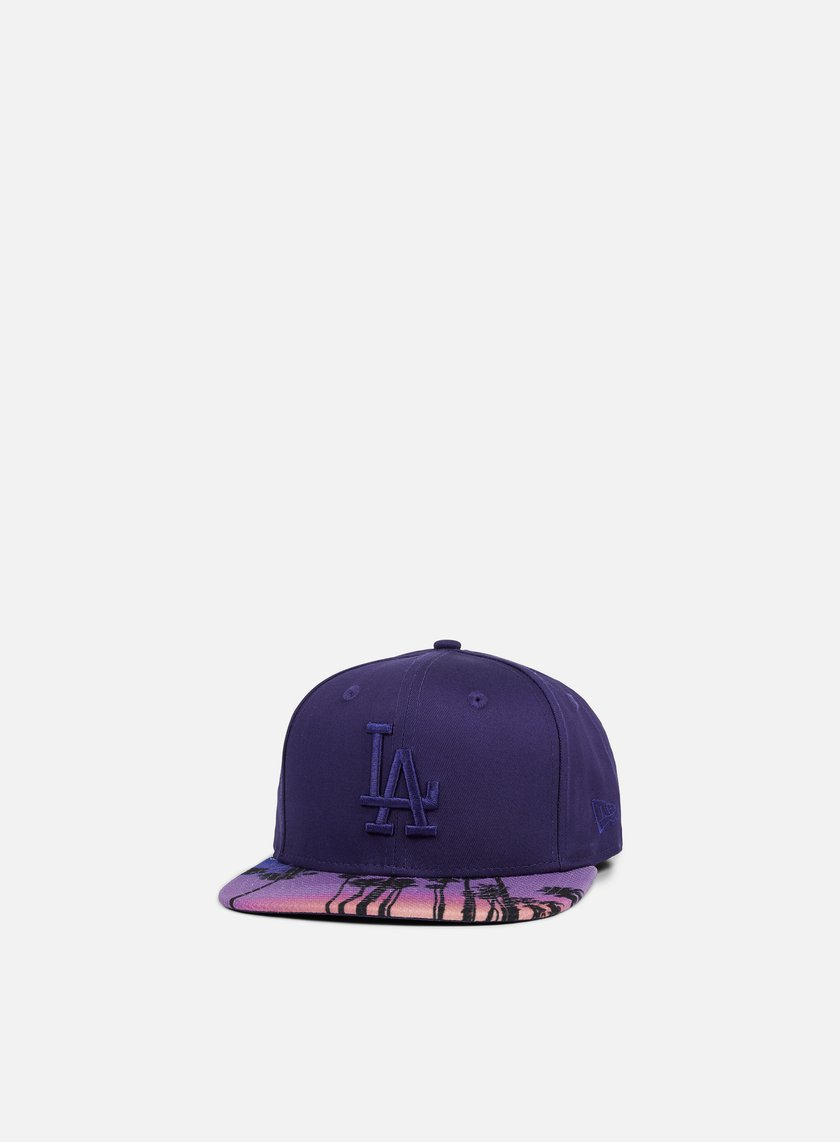 New Era - West Coast Visor Snapback LA Dodgers, Navy/Multicolor