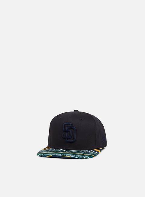 cappellini new era west coast visor snapback san diego padres dark navy multicolor