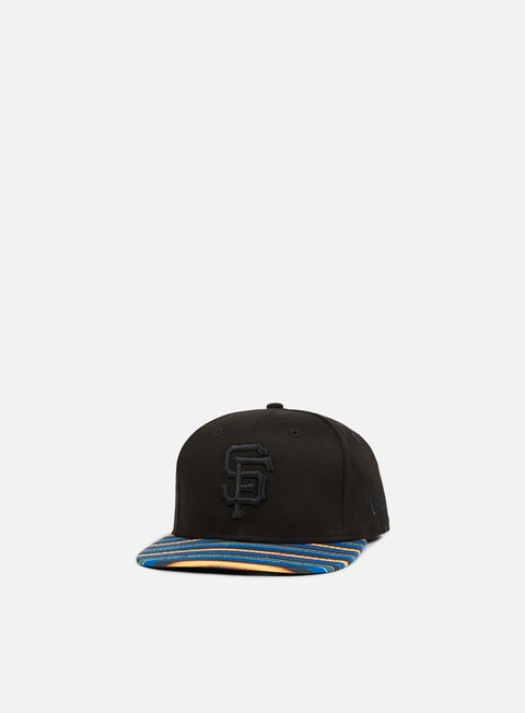 cappellini new era west coast visor snapback san francisco giants black multicolor