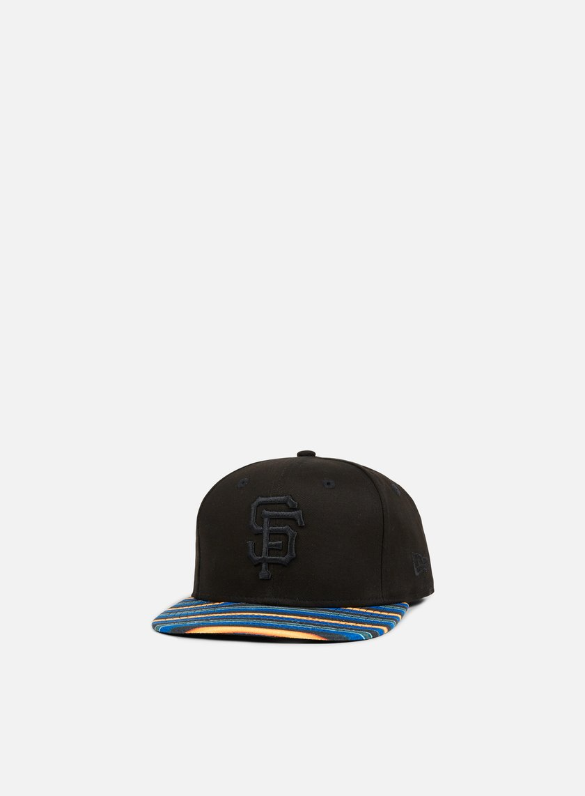 New Era - West Coast Visor Snapback San Francisco Giants, Black/Multicolor