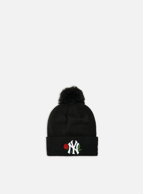 Cuffie New Era WMNS MLB Twine Bobble Knit Beanie NY Yankees