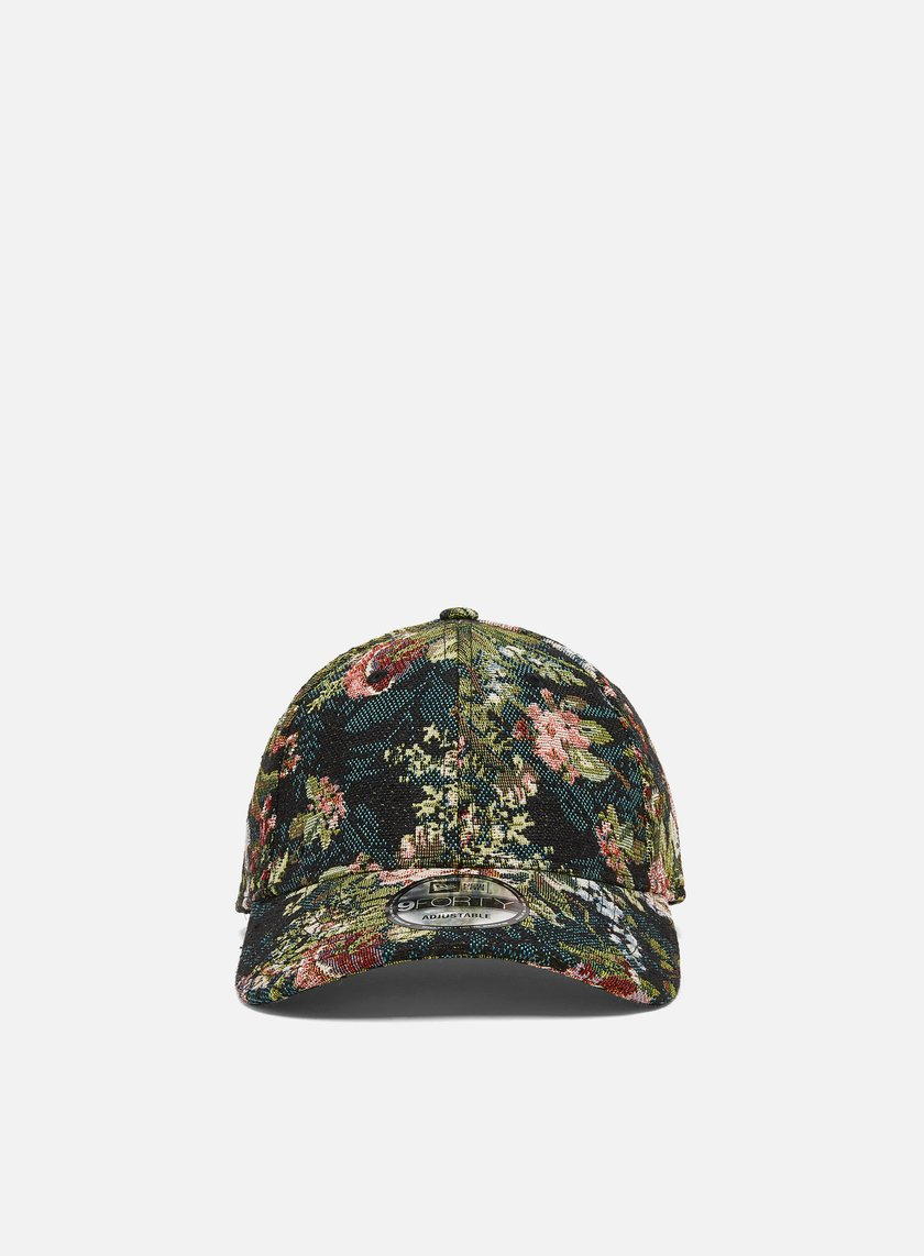 New Era Woven Floral 9Forty Strapback