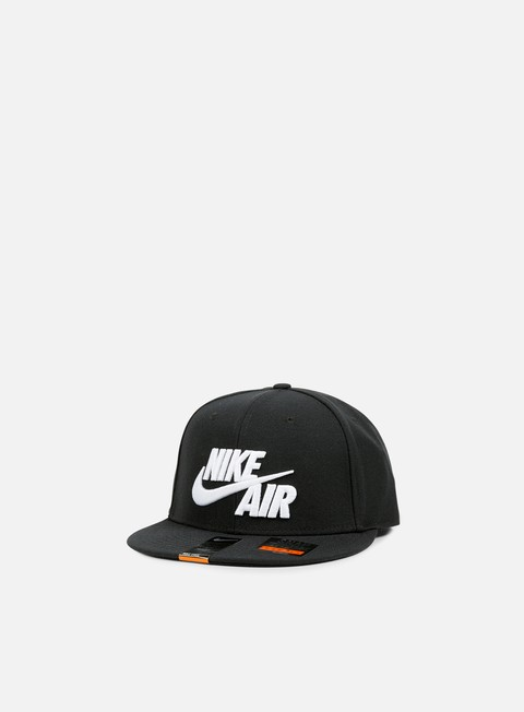 cappellini nike air true snapback black white