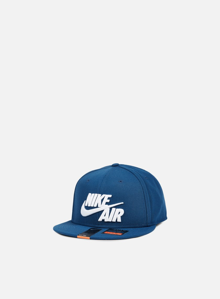 Nike - Air True Snapback, Coastal Blue/White
