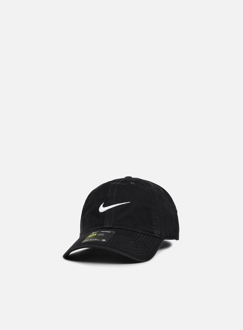 cappellini nike h86 classic swoosh cap black white